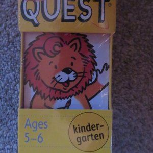 BRAIN QUEST - AGES 5-6 KINDERGARTEN-